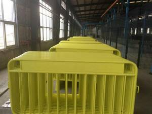 Wholesale road barricades: Zinc Metal Welded Galvanized Crowd Control Barriers
