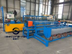 Wholesale duck: Fully-automatic Chain Link Fence Machine
