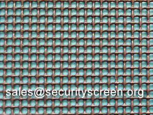 Wholesale baby ten: 304 Stainless Steel Security Screen