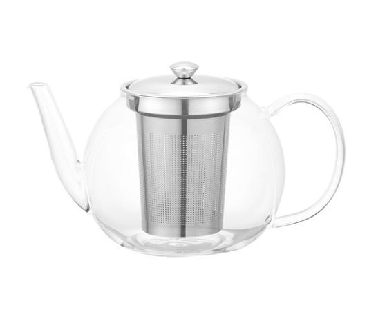 AX811 Zhejiang Borosilicate Glass Tea Pot with Stainless Steel Tea Infuser