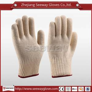 Wholesale cotton gloves: SeeWay M300 Double Layers Cotton Heat Resistant Gloves for General Industry