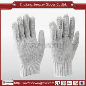 Wholesale fishing glove: SeeWay F518 HDPE with Stainless Steel Cut Protection Safety Work Knife Resistant Anti Cut Glove
