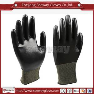 Wholesale nitrile gloves: SeeWay 701 Oil Resistant with Nitrile Coating Working Gloves