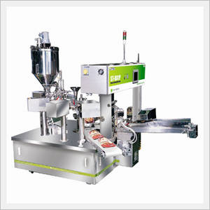 Wholesale noodle making machine: Liquid Filling Rotary Packing Machine [ST-8A1P]