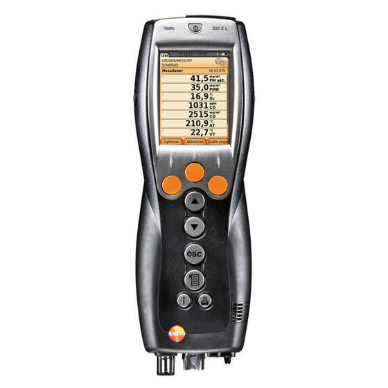 pc case: Sell Testo 330-1G LL Kit 4 Commercial Combustion Analyzer