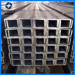 Wholesale Steel Channels: JIS,GB Standard and Q235,SS400B Grade  Channel Steel U Type
