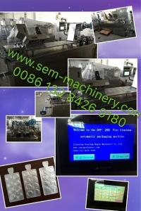 Wholesale capsule: Automatic Tablet Capsule Pill Candy Blister Packing Machine,DPP-80 Aluminum Foil Plastic Liquid Blis