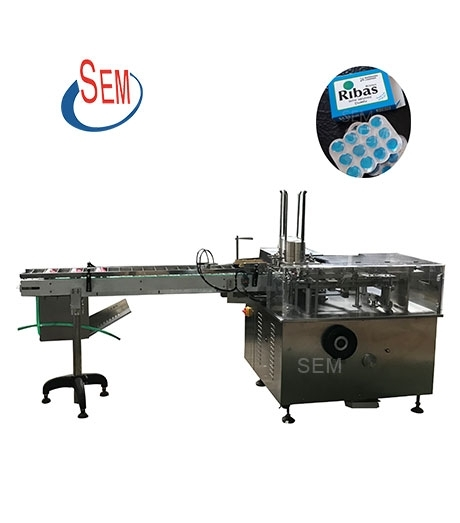 SMZ-125 Carton Packing Machine,Carton Packing Machine for Tablet Blister,Carton Packing Machine