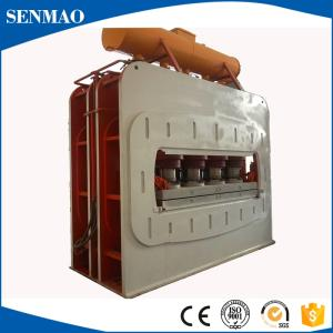 Wholesale laminating machine: 1600T Short Cycle Hot Press Machine for Furniture Board Surface Laminating