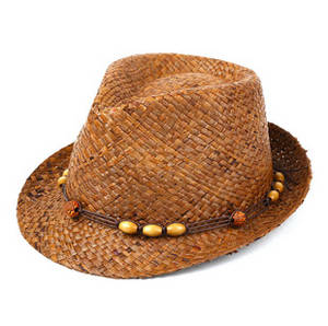 Wholesale cowboy hats: Raffia Straw Hat Good Quality Character Hollow Cowboy Hat