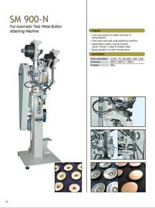 Wholesale tack button: Fully Automatic Tack Metal Button Attaching Machine