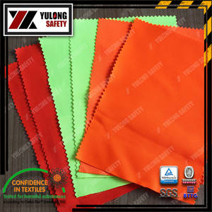 Wholesale tc twill fabric: Cotton Polyester Hi Vis Fabric