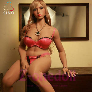 Wholesale real doll sexy: 162cm Big Breast Silicone Sexy Doll Male Masturbation