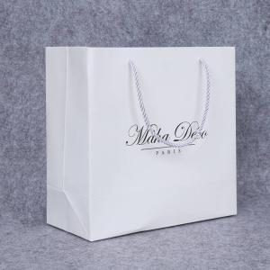 Wholesale gift: Custom Cheap White Gift Luxury Gift Paper Bag