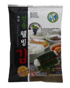 Wholesale roasted seaweed: Sung Gyung Wellneing Seasoned Laver 30g