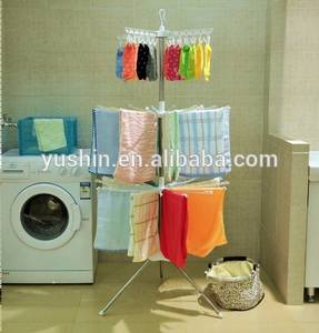 Wholesale salon towel: 3-Layer Portable Plastic Free Standing Towel Rack for Barbershop and Beauty Salon with Clips