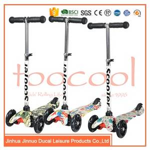 Wholesale Kick Scooters, Foot Scooters: 3 Wheel Roller Skate Baby Scooter