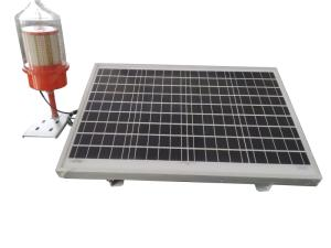 Wholesale plastic color separate: Medium Intensity Type B Solar Aviation Light Single and Dual Dome Flashing