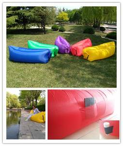Wholesale lounger: Outdoor Inflatable Air Sofa Waterproof  Inflatable Air Lounger  Air Sleeping Bags Lazy Chair