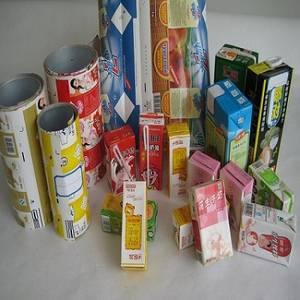Wholesale aseptic packaging: Aseptic Brick Package Material Roll