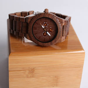 Wholesale watches: Men's New Fashion Wood Face Watch,Wood Watches Custom Your Logo