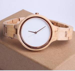 Wholesale wristwatch: 2018 Hot Sale Fashion Natural Wood Watch,Custom Logo Design Wooden Watch  Unisex