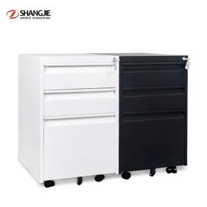 Wholesale mobile filing cabinet: Office Mobile Metal A4 File Storage Cabinet
