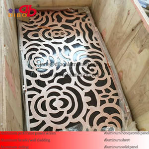 Wholesale perforated metal panels: Aluminum Metal Perforated Decorative Panel/Screen for Decoration