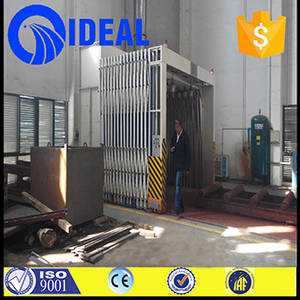 Wholesale spray booth: VNo Pump Water Curtain Flexible Movable Spray Booth