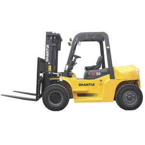 Wholesale lifting equipment: 5 Ton Diesel Forklifts as Material Lifting Equipment