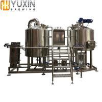 Craft Beer Pub Restaurant Bar Use 3HL 5HL 10HL Beer Micro Brewery Equipment 2