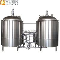 Pilot Beer Brewery Use 100L 200L 300L Micro Electrical Heating Beer Brewery Equipment System 5