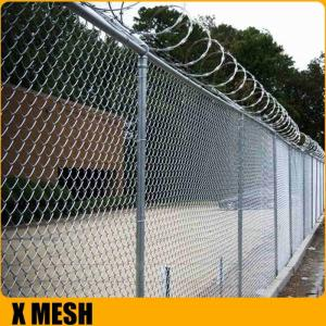 Wholesale wire processing machine: Galvanized Cyclone Wire Fencing