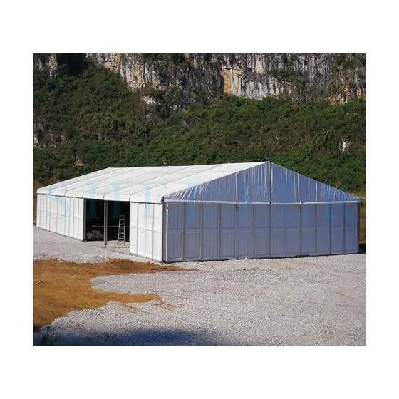 Outdoor Large Aluminium PVC Fabric Temporary Warehouse Tent for Sale