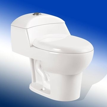 Sell Bathroom Cceramic Water Close One-Piece Ceramic Toilet China