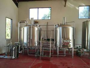Wholesale Beverage Processing Machinery: Mini Beer Brewery Equipment for Sale Used in Hotel, Bar, Pubs and Brewery Plant