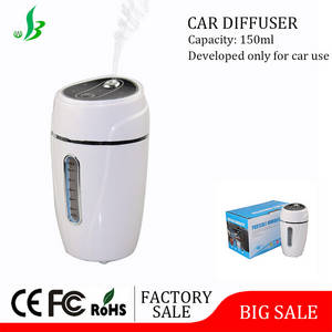 Wholesale usb essential oil diffuser: Wholesale 50ml Mini USB Ultrasonic Portable Essential Oil Diffuser