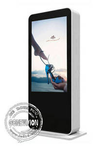 Wholesale Advertising Players: Floorstanding 3G Wifi LED Digital Signage Outdoor Electronic