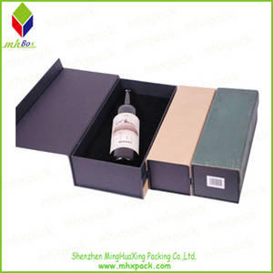 Wholesale gift packing boxes: Customized High Quality Wine Packing Gift Box