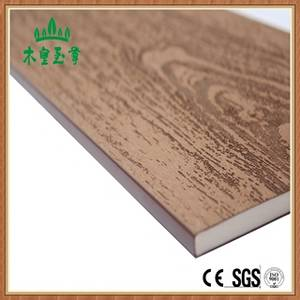 Wholesale merbau: SGS Approved Solid Core Exterior Wood Plastic Panels Design PVC Wall Cladding