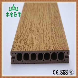 Latest Co-extruded Wpc Decking Board Waterproof PVC Outdoor Flooring