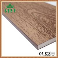 SGS Approved Solid Core Exterior Wood Plastic Panels Design PVC Wall Cladding