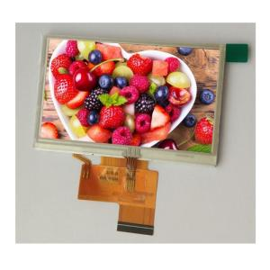Wholesale lcd touch screen: 4.3 Inch TFT LCD Display 480x272 Resolution RGB Interface with Resistive Touch Screen