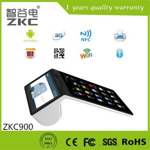 Wholesale POS Systems: Wireless NFC RFID Pos Terminal with Thermal Printer