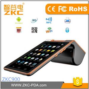 Wholesale handheld pos terminal: Restaurant Ordering Online Store Pos Tablet with Built in Printer Nfc Rfid