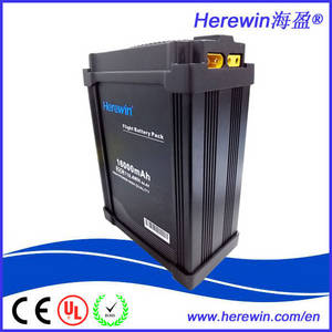 Wholesale li polymer battery: DJI Supplier Herewin New Designed 12000mah/16000mah 12s 44.4v Li Polymer Battery Prototype for Smart