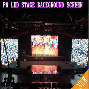 Wholesale indoor full color: P 6 Full Color Indoor Rental LED Background Screen
