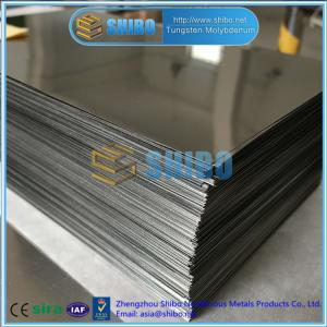 Wholesale titanium sheet for sale: High Quality TZM Molybdenum Sheet, TZM Alloy Plate