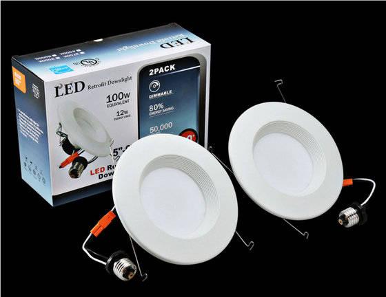 Residential Lighting: Sell led downlight 6inch 12W