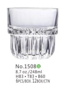 Wholesale cup for wine: Wholesale 8OZ Whisky Glass Cup for Wine Coffee Juice Drinking (1508)
